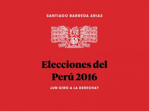 Elecciones del Perú 2016: ¿Un giro a la derecha?